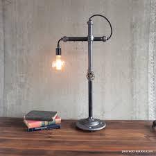 lamp office. table lamp industrial lighting task office bare edison
