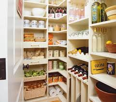 view full size custom walk in pantry with melamine storage shelves