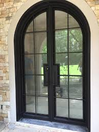 the beauty of iron front doors