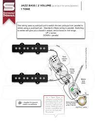 bass seymour duncan part 2 jazz bass 2 volume push pull series parallel 1 tone