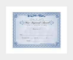 27 Printable Award Certificate Templates Free Premium