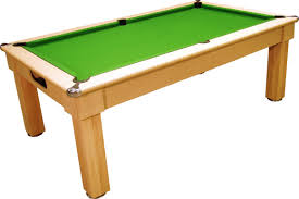 pool table dining tables: oxford pool dining table light oak with green cloth