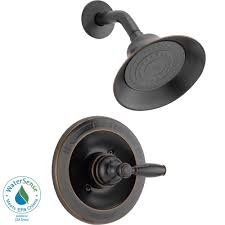 delta oil rubbed bronze shower head. Brilliant Rubbed Peerless SingleHandle Shower Faucet Trim Kit In Oil Rubbed Bronze Valve  Not Included Throughout Delta Head 2