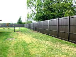 metal privacy fence decorative panels solid custom setting posts fen83 metal