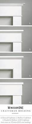 Craftsman Molding variations using WindsorONE Trim Boards and Moldings.  Casing with header/frieze buildup