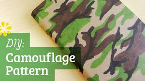 How To Paint Camouflage Pattern