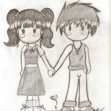 anime holding hands and walking. Interesting Walking Holding An Animate Couple While Drawing Art And Walking Sketches Can Be  Your Choice While Posting This Anime Pair Holding Hand Sketch  For Anime Hands And Walking O