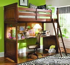 Plans For A Loft Bed Full Loft Bed With Desk Plans