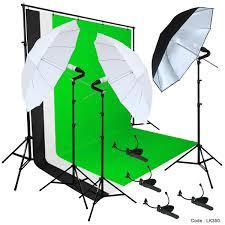 photo studio lighting photography studio backdrop stand 3 muslin light kit
