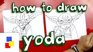 Art For Kids How To Draw Yoda Youtube
