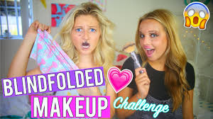 blindfolded makeup challenge w kylee renee
