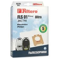 <b>Мешок</b>-<b>пылесборник Filtero FLS 01</b> (S-bag) Ultra Экстра – купить в ...