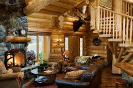 Interior Design Log Homes Interesting Design Ideas