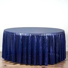 navy table cloths navy premium sequin round tablecloth navy round plastic tablecloths
