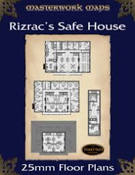 DARKFURIES com   Product InformationRizrac    s Safe House mm Floor Plans  PDF