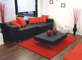 Red And Black Living Room Decorating Ideas White Combined With Red Black Living Room Decorating Ideas