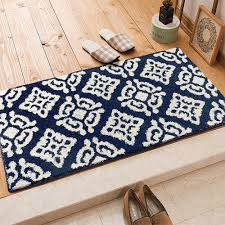 Non Slip Rugs For Kitchen Popular Blue Kitchen Rugs Buy Cheap Blue Kitchen Rugs Lots From