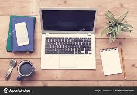 laptop office desk. Laptop Webdesign Office Desk Mockup \u2014 Stock Photo K