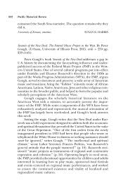 review sounds of the new deal the federal music project in the  pdf extract preview