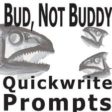 bud not buddy journal quickwrite writing prompts powerpoint