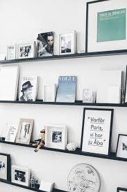 holman ledge 20 diy wood shelves all white frames black white