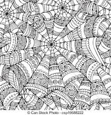 Spider Web Pattern Stunning Vector Abstract Halloween Spider Web Seamless Pattern