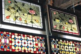reclaimed stained glass windows old hardware architectural is a showroom with square feet of antique lighting vintage and thousand s