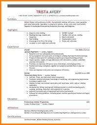 Combo Pipe Welder Sample Resume Receptionist Resume Sample