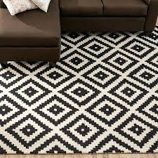geometric pattern area rugs amazing black cream geometric wool hand tufted area rug reviews inside geometric