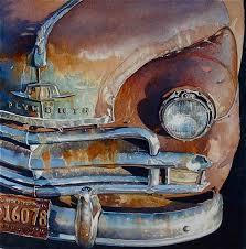 watercolor plymouth by artist joel johnson on florida watercolor society page interesting subject choice