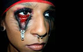 easy scary makeup ideas for mugeek vidalondon