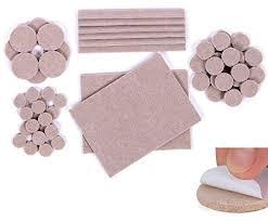 Premium Furniture Pads 124 Piece Multi Use Bundle 60 Heavy Duty