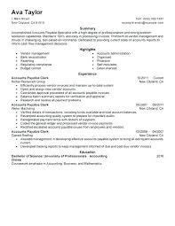 Accounts Payable Job Description Resume Best of Accounts Payable Responsibilities Resume Accounts Payable Job