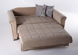 Some couches convert into bunk beds. Another option for overnight guests is  the sectional sofa that converts to a bed.