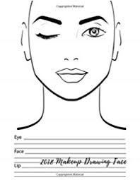 Free Printable Face Charts For Makeup Artists Free Blank Face Charts For Makeup Artists Saubhaya Makeup