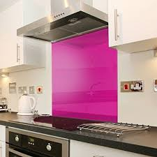 toughtened pink tempered glass surface