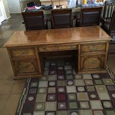 very nice vintage desk made by national mt airy