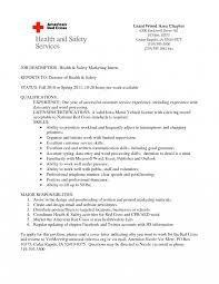 Internship Resume Objective Sample Objectives Mph By Clinical
