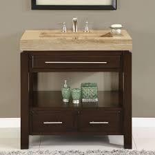 com silkroad exclusive dark walnut stone top single sink bathroom vanity with cabinet 36 inch home kitchen