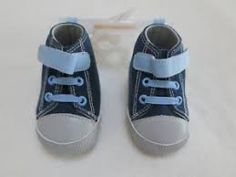Gymboree Baby Shoe Size Chart Details About New Gymboree Baby Boys Blue High Top Sneakers Crib Shoes Size 01 0 3 Months