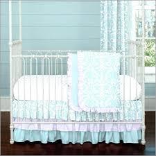 wonderful turquoise crib bedding custom crib bedding hot pink turquoise and