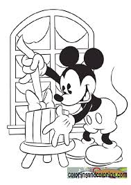 Small Picture Mickey Mouse Christmas Coloring Page Coloring Home