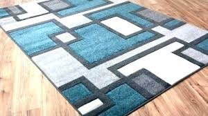 turquoise and gray area rug grey rugs teal yellow c
