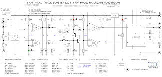 dcc booster lmd model train electronics dcc booster lmd18200