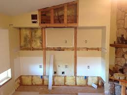 in wall entertainment center custom drywall work temecula ca