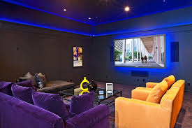 kitchen rope lighting. hidden led rope light home theater eclectic with plasma tv round coffee tables kitchen lighting