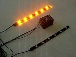 amber flashing led strip with flasher relay for turn signal youtube Turn Signal Flasher Relay Wiring Diagram amber flashing led strip with flasher relay for turn signal 3 Wire Turn Signal Diagram