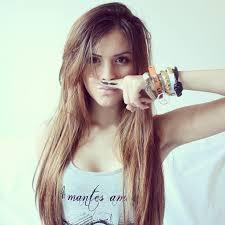 In english cute brunette teen