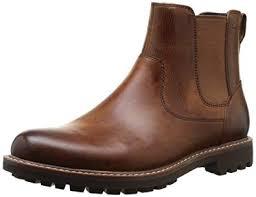 Clarks Mens Montacute Top Chelsea Boots