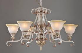 portfolio 6 light rust iron antique chandeliers